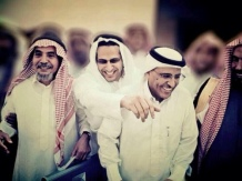 Waleed's twitter avatar, Taken in front of the district court at 24/11/2012 where a hearing session of Abdullah Al-Hamid & Mohammad al-Qahtani trial.