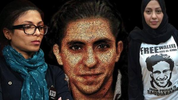 Zwei Frauen im ständigen Kampf um die Freiheit des inhaftierten Saudi-Bloggers: Ehefrau Ensaf Haidar (35, li.) und Schwester Samar Badawi (34)